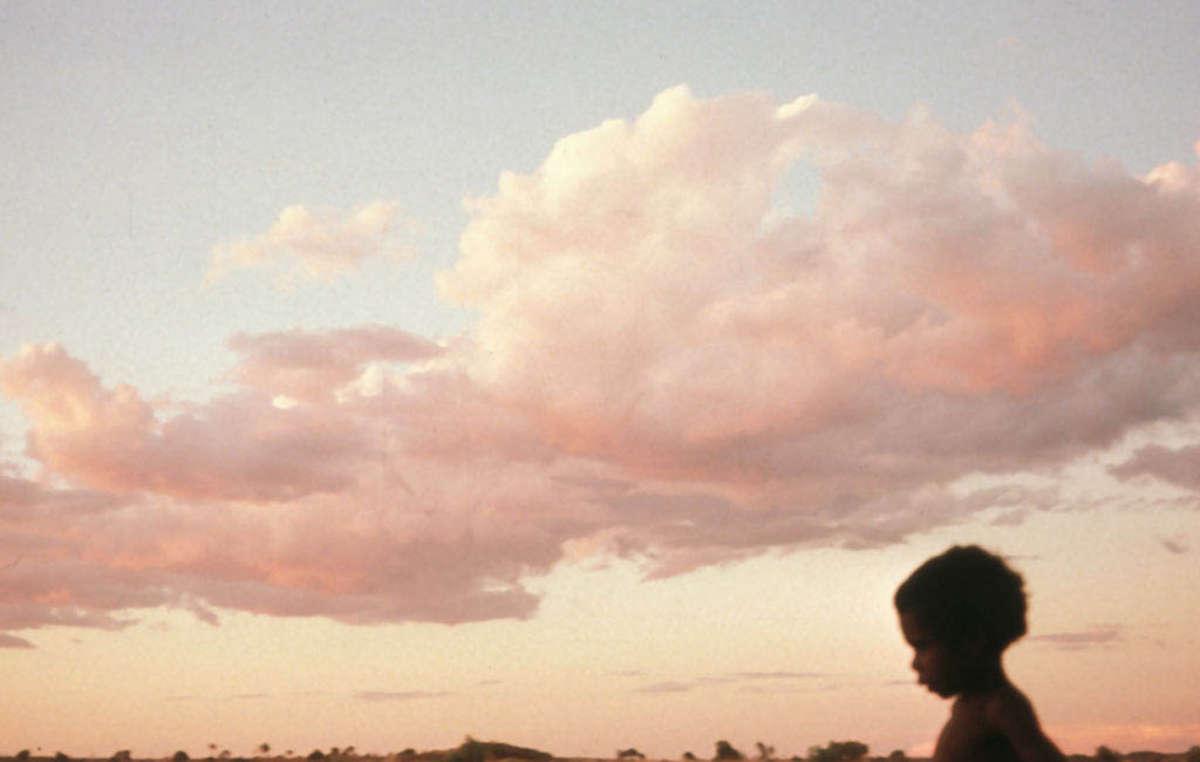 Un jeune aborigène, Australie.