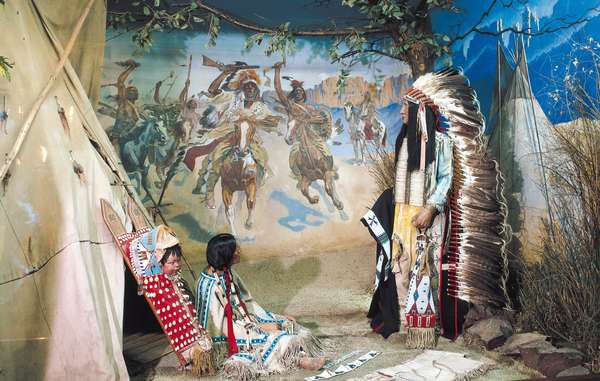 The Karl-May-Museum, named after the popular German adventure writer, aims to provide a 'genuine insight into the lives and craftsmanship of North American Indians'. It has been embroiled in controversy over its refusal to return scalps to a Native American tribe.