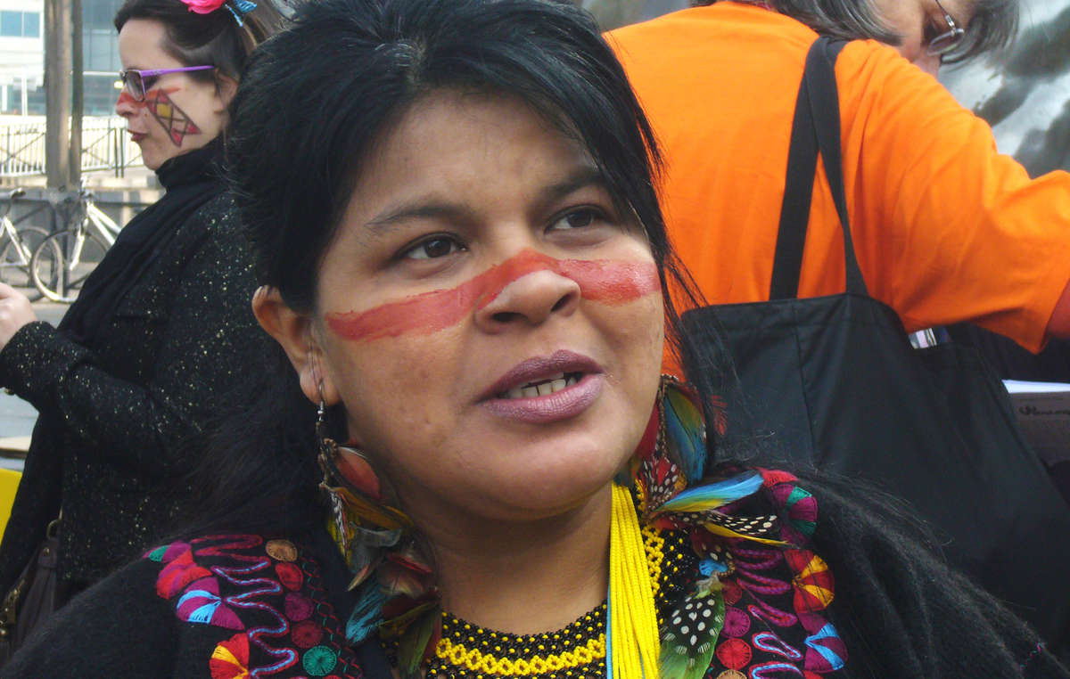 Brazilian Indian leader Sonia Guajajara, who will be attending the Bonn climate conference.