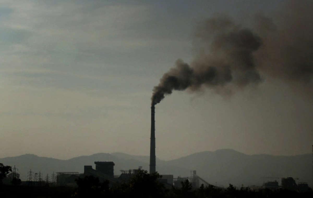 Vedanta's aluminium refinery in Lanjigarh, Odisha, India