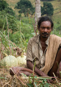Dongria Kondh man in Niyamgiri, India