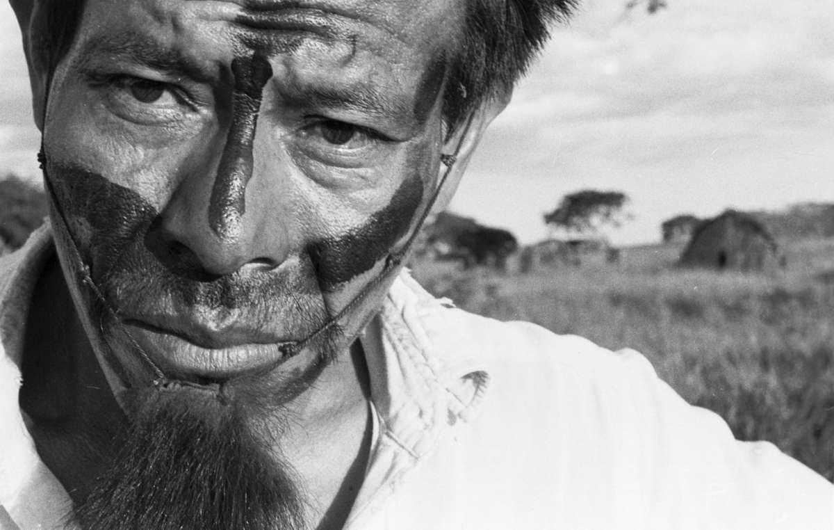 Un uomo guarani. Negli ultimi mesi i Guarani stanno subendo un numero crescente di minacce e aggressioni.
