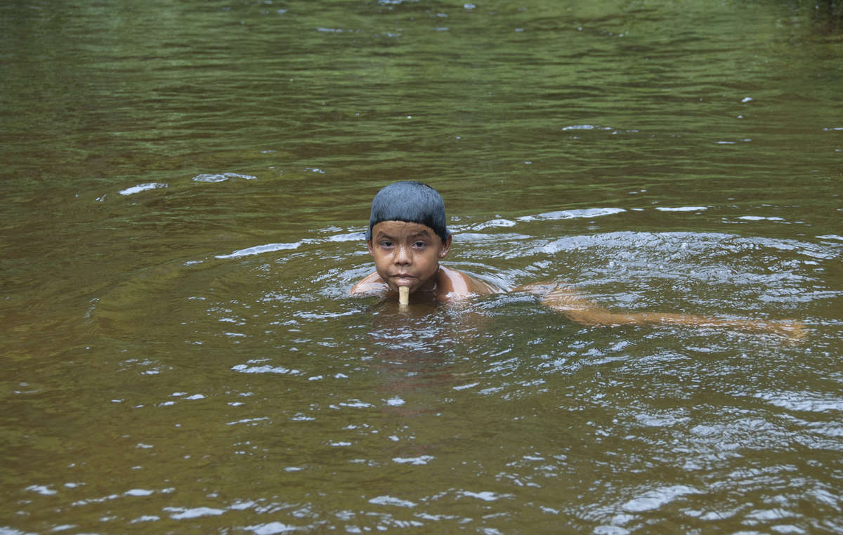 Much of the tribes food comes from fishing, making them highly vulnerable to mercury poisoning after miners dump the chemical in rivers to search for gold