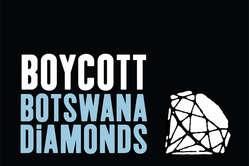 Survival appelle au boycott des diamants du Botswana tant que les Bushmen nauront pas retrouvé leur accès à leau.