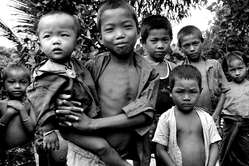 Marma children. Ever since Bangladesh gained independence, the Jumma tribes have experienced waves of murder, torture and rape, and had their villages burnt down.