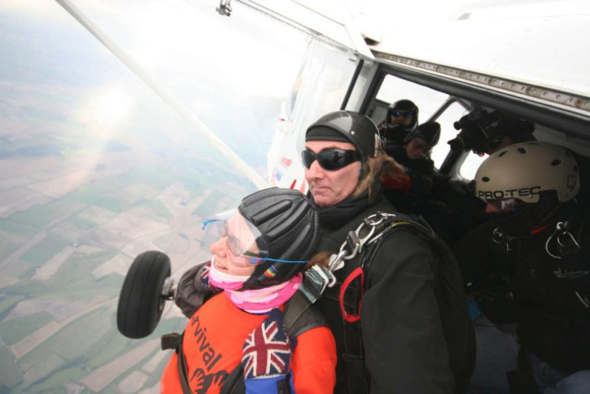 Lucy Luke's Skydive for Survival
