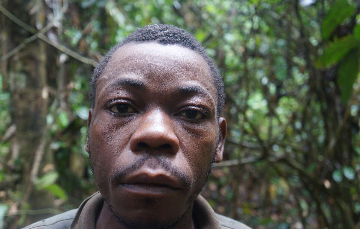 Baka man, Cameroon