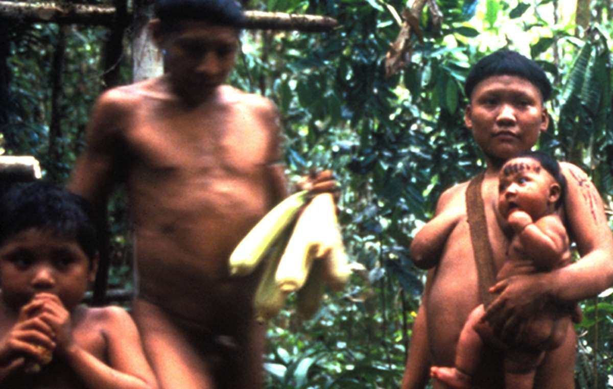Korubo Indians contacted in the mid-1990s. Another Korubo family made first contact earlier this month.