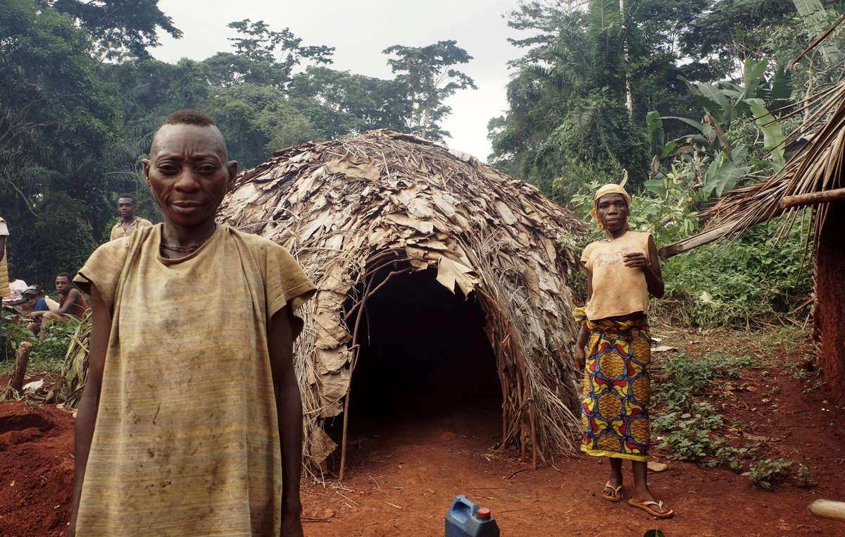Die Baka haben nun Angst davor in den Wald zu gehen, der ihre Lebensgrundlage war.