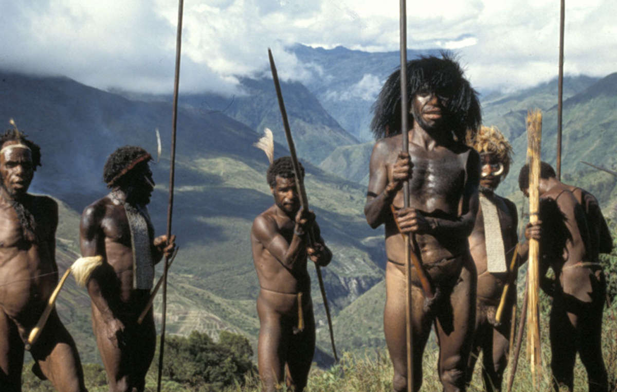 Dani Men, 1991 Baliem Valley, West Papua.