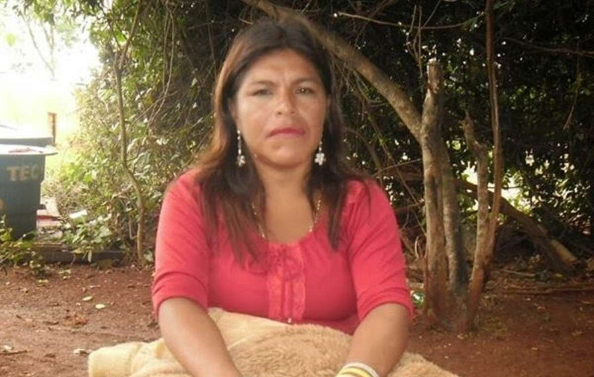 Guarani leader Marinalva Manoel was stabbed to death after campaigning for her tribes ancestral land.