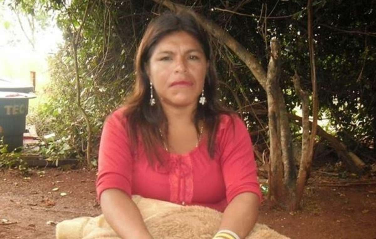 La leader guarani Marinalva Manoel a été poignardée à mort parce quelle luttait pour sa terre ancestrale.