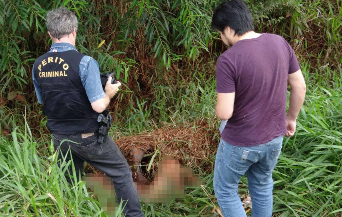 O corpo da líder Guarani Marinalva Manoel foi encontrado ao lado de uma rodovia.