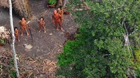 Footage Of North Sentinel Island Drone